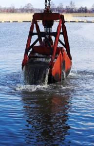 Hijswerken waterbouwwerken